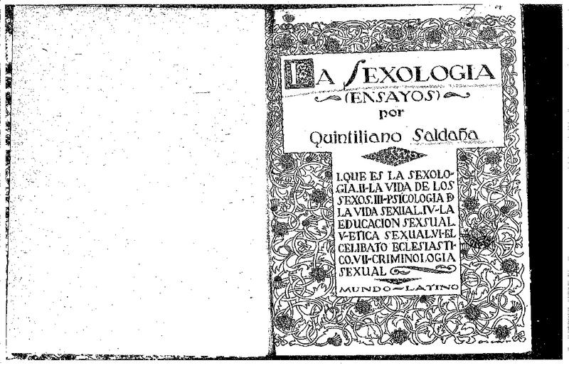 16. Saldaña, Quintiliano. quintiliano-la-sexologia-ensayos.pdf