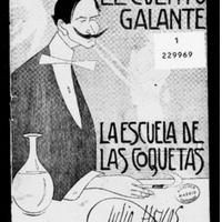 Número 15. Julio Hoyos. El Cuento Galante. La Escuela de las Coquetas. 1913.pdf