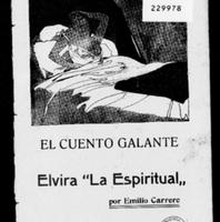 Número 26. Emilio Carrere.  El Cuento Galante. Elvira La Espiritual. 1913.pdf