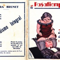 Advertisement for Laura Brunetís Desnudismo integral