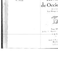 """6.Dantín Cereceda, Juan.  """"Enrique Casas- las ceremonias nupciales. Estudio de los ritos de proflaxis sexual privada y pública.""""rev.occ.julio1927.doc2.pdf"""