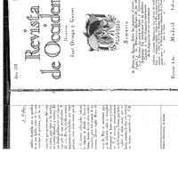 """19. Pérez de Ayala, Ramón.  """"Sobre las mujeres, Don Juan y el amor."""" rev.occ.feb1925.pdf"""