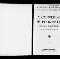 #6. Emilio Carrére. La conversión de Florestán. La novela Semanal (1921).pdf
